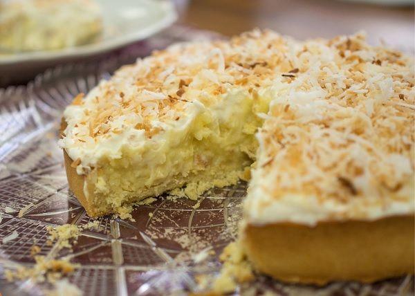 Torta Cremosa de Coco
