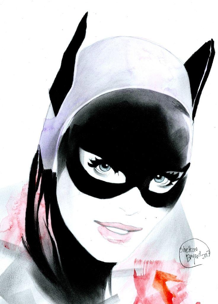 Batgirl Comic Art