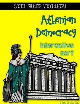 This Athenian Democracy vocabulary word interactive sort is just what you need if you teach third grade in Georgia (or any state, as long as it is Greece that you are teaching about!) Make sure that your students are able to tell the difference between some of the key terms and vocabulary involved in this person's life.