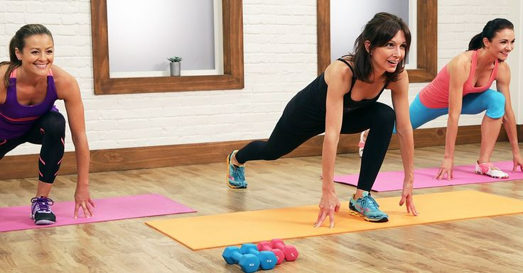 The Ultimate 30 Minute Cardio Pilates Workout Video --- When you combine Pilates, hand weights, and cardio, you get one wicked workout. And by wicked, we mean really fun and really effective.