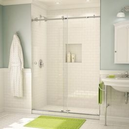 Bath enclosures - eclectic - showers - philadelphia - SGO Designer Glass