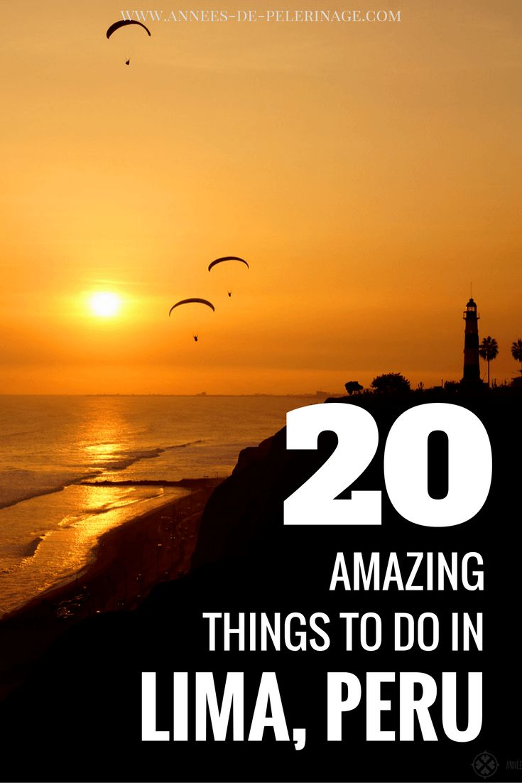 A list of 20 amazing things to do in Lima. Get the best travel tips for Peru's capital. Click for more information and lot of photography & pictures.