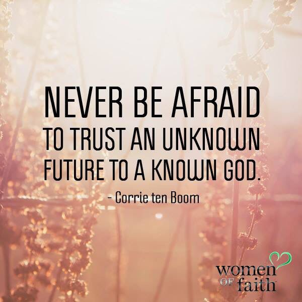 Corrie Ten Boom quote Womenoffaith.com