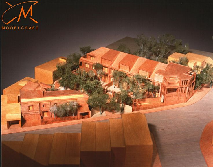 1:200 Timber Architectural Model by Modelcraft (NSW) Pty Ltd - b499 (this one gets the credit of being the first timber model we ever made)