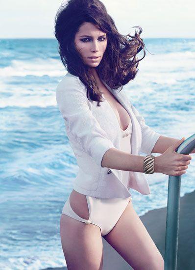 Jessica Biel for W Magazine / April 2012