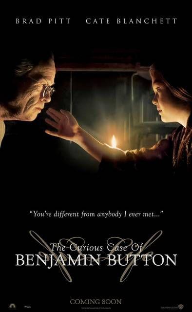 The Curious Case of Benjamin Button (L'Étrange Histoire de Benjamin Button) - Brad Pitt, Cate Blanchett