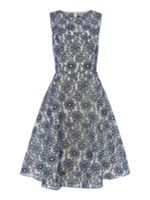 Look what I found at House of Fraser Untold Embroidered Fit And Flare Dress