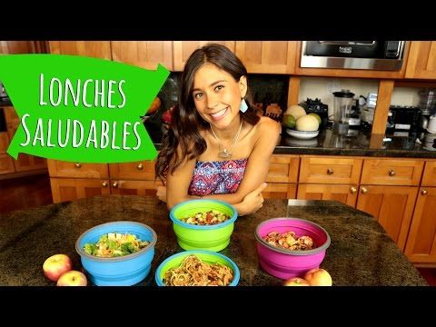 56 best raw vegan recipes images on pinterest vegan meals vegan ideas de lunch saludables para la escuela o el trabajo youtube forumfinder Choice Image