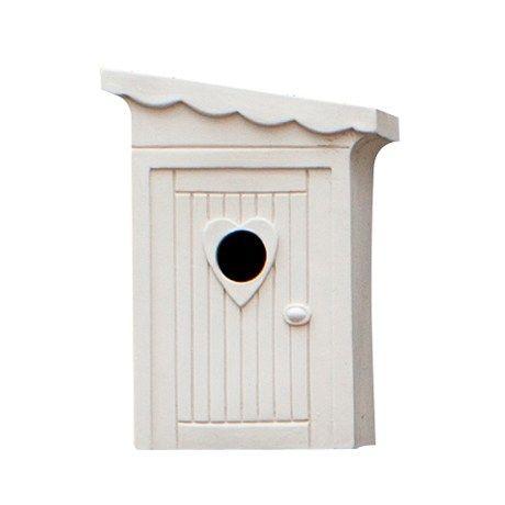 Vogelhuis Schijtlijstertje by Charlotte Landsheer en Ton Musch - Cor Unum Ceramics