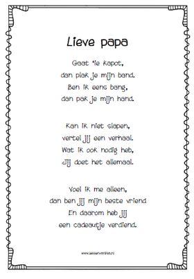 Op vader- of Moederdag is er niets leuker*, dan gewekt worden door je kind(eren) met een zelfgemaakt ontbijtje, een knutsel en natuurlijk een gedichtje.