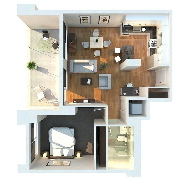 Floor Plan For One Bedroom Housenew Floor Plan For One Bedroom House And 14 Simple Floor Plan Denah Rumah Rumah
