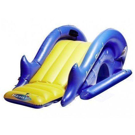 Toboggan gonflable piscine - Kerlis - 13059 - Jardin piscine