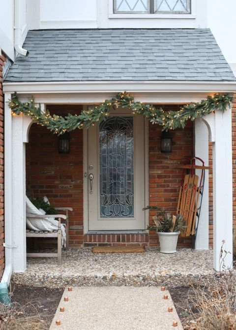 Christmas Porch Decorating Ideas 25+ best christmas front porches ideas on pinterest | christmas