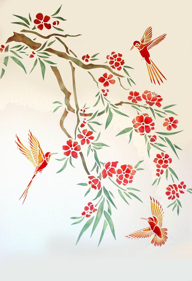 1245 best royal desngn stencil 2 images on pinterest stenciling humming birds stencil henny donovan motif amipublicfo Gallery