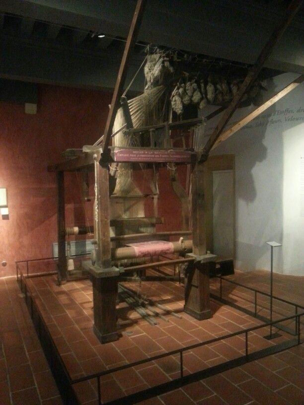 Métier à tisser,  Canut Lyon - musée  Gadagne