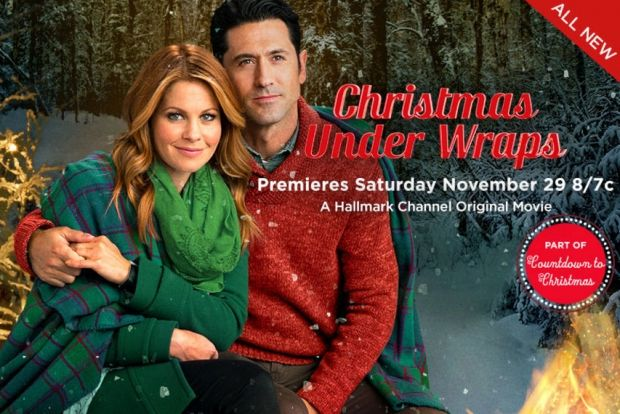 christmas under wraps | Christmas Under Wraps' New Hallmark Movie Starring Candace Cameron ...