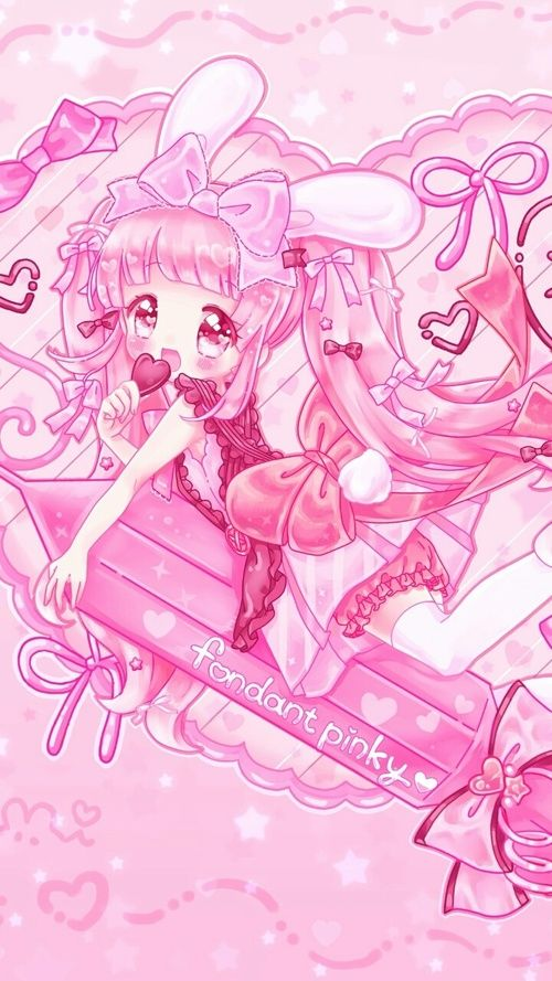 anime, art girl, baby doll, baby girl, background, beautiful, beautiful girl, beauty, beauty girl, cartoon, chibi, cute baby, design, drawing, fashion, illustration, kawaii, little girl, pink, sweet lolita, wallpapers, we heart it, pink background