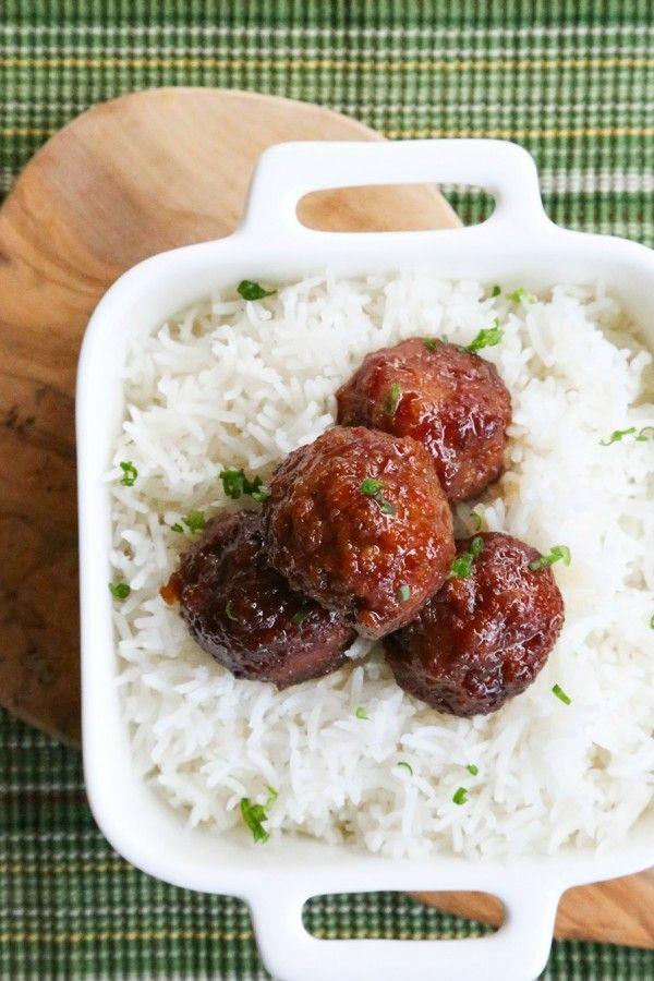 ... ham meatballs in a brown sugar and mustard glaze. Leftover Ham never