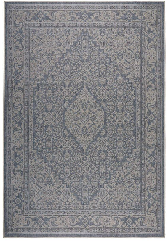 Nicole Miller Patio Country Dahlia Blue 7 9 X 10 2 Area Rug Reviews Rugs Macy S In 2019 Outdoor Rugs
