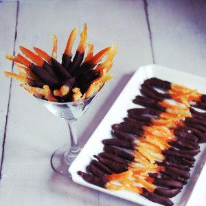 Chocolate Covered Orange, gluten free, gf, gluten free dessert, gluten free candy