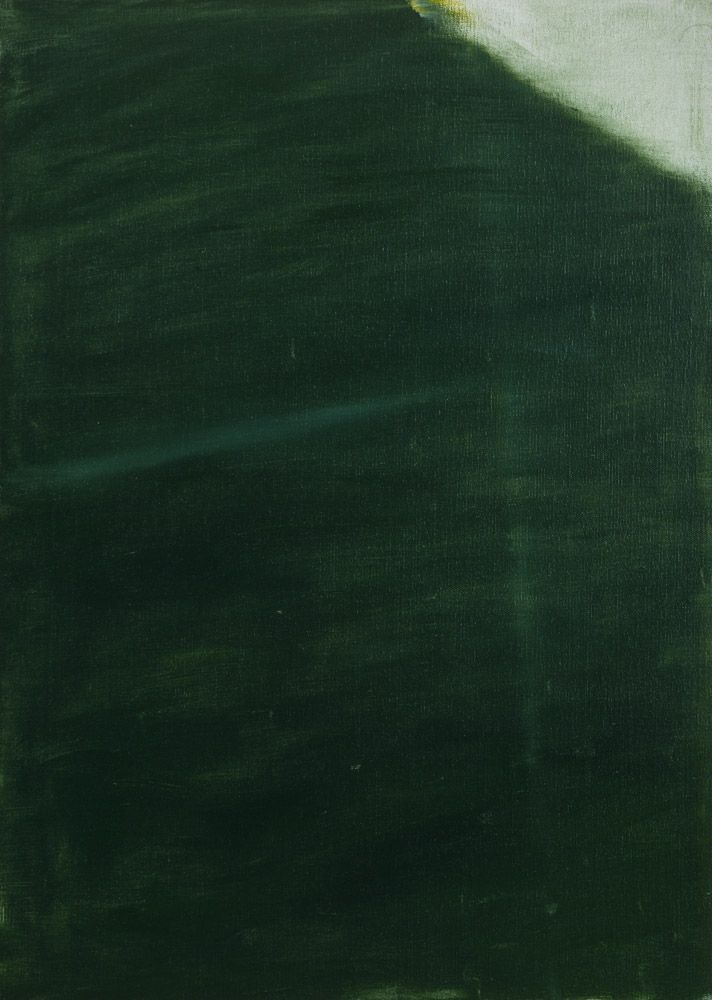 Raoul De Keyser Untitled 1988 70 x 50 cm oil on canvas