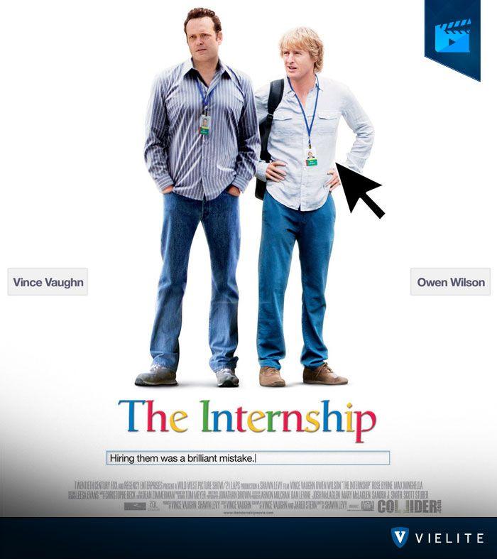 """Owen Wilson y Vince Vaughn se han vuelto a juntar para botarnos de risa con la película """"Aprendices fuera de línea"""", ¡Te recomiendo al 100% que la veas! #recomendaciónVIELITE"""
