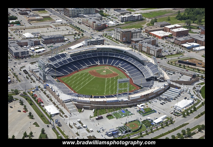 TD Ameritrade Park Omaha | Aerial Photos | Td ameritrade, Sports, Hockey