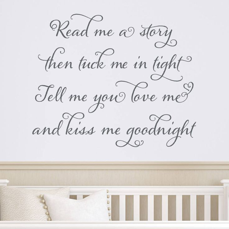 Wall Decal Quotes For Baby Nursery : Best nursery wall quotes ideas on baby
