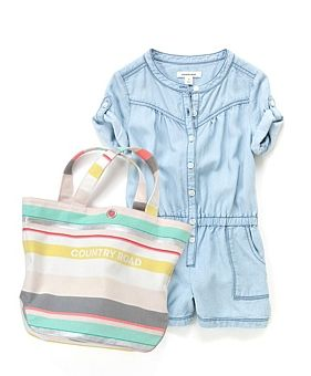 #Country #Road #kids #jumpsuit and #tote