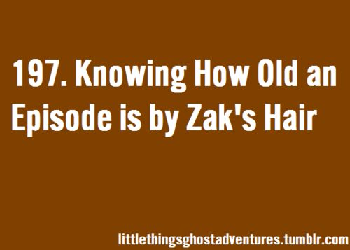Sam, I thought you might enjoy this. I did lol. The Little Things About Ghost Adventures