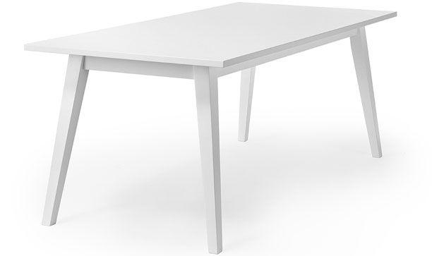 Edison matbord vitlack - Nilssons Möbler i Lammhult AB