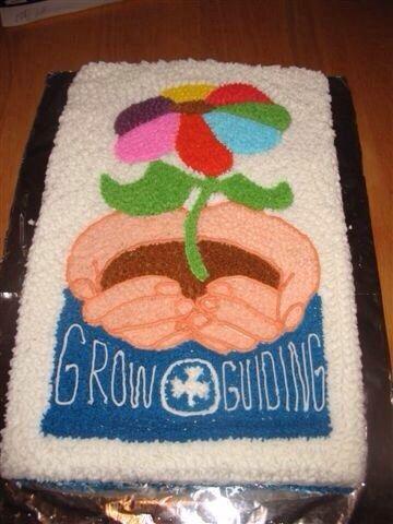 Girl guides cake