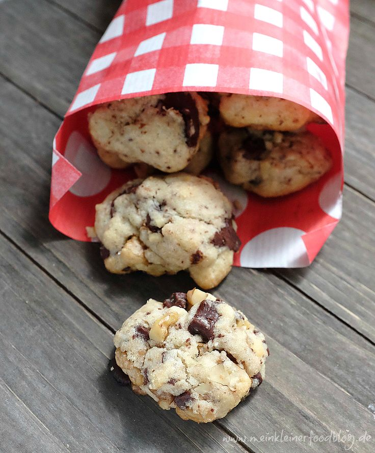 Genieales Rezept: Chocolate Chip Cookies mit Kokosöl