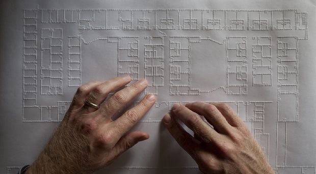 Scientists and architects are pioneering a new cartography for blind users.