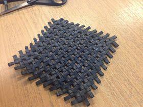 I håndvært og design har jeg præsenteret et alternativt materiale for mine elever - Cykelslanger. Inden af dem har prøvet at arbejde med mat...