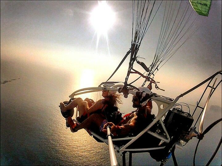 Tandem paragliding Crete Greece