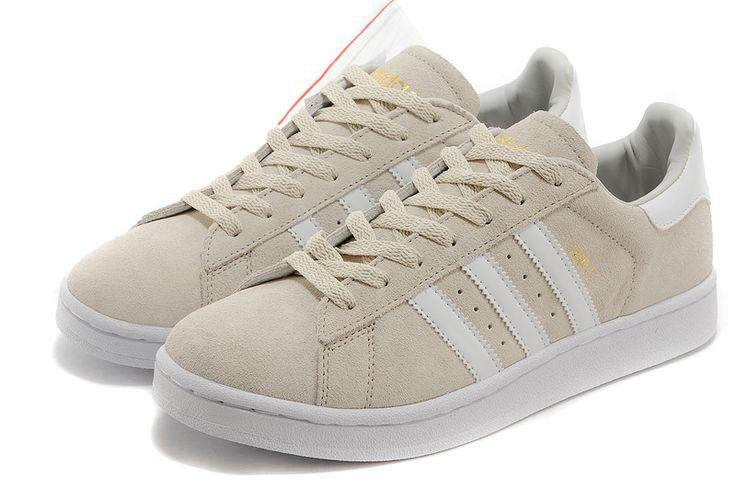 Mænd / kvinder Adidas Originals Campus 80s Casual Shoes Beige / Guld