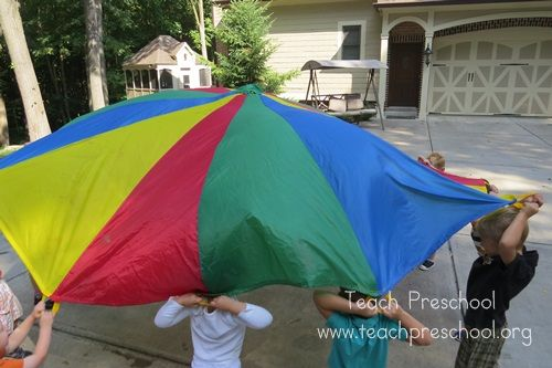 Post image for Parachute basics: The hello game