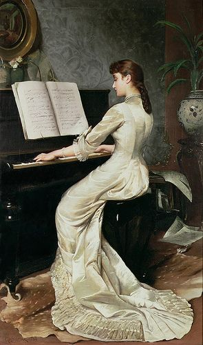 George Hamilton Barrable, A song without words, 1880 - Pinterest