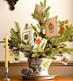 Lemon & Lime Event Design shares unique #DIY holiday card displays.
