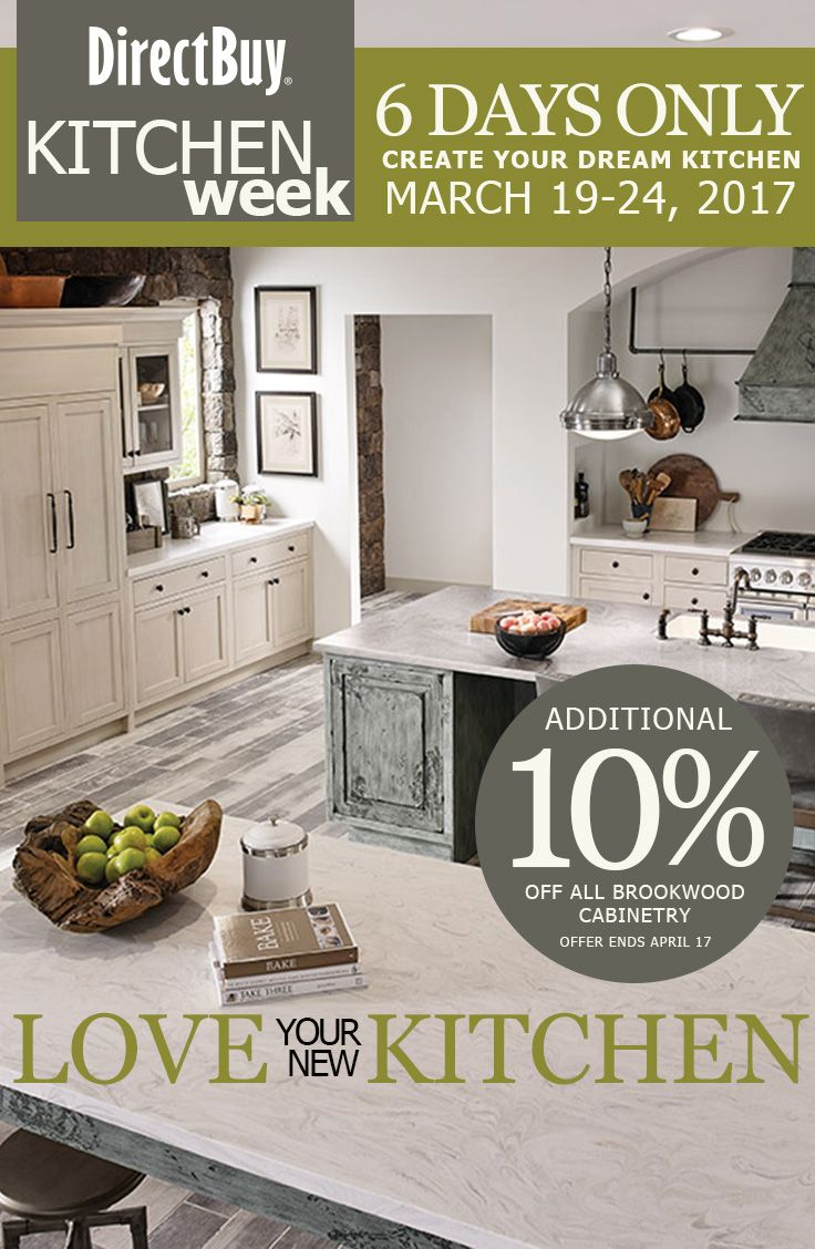 101 best our kitchens images on pinterest dream kitchens directbuy s kitchen week march is designed to help our members take their kitchens from dream to reality saving at every step
