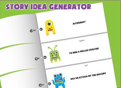 Book plot idea generator for kids