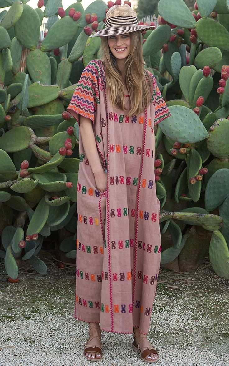 Pippa Holt Kaftans Spring Summer 2016 - Preorder Now on Moda Operandi