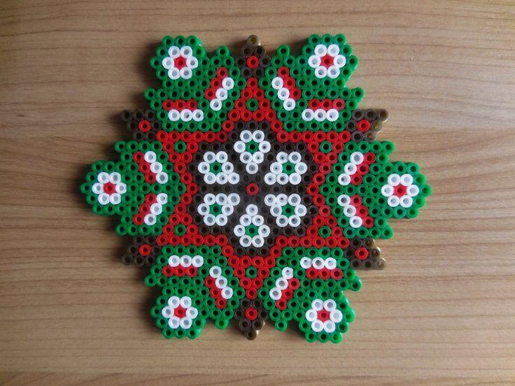 Resultado de imagen de hama beads christmas decorations for Perle decoration