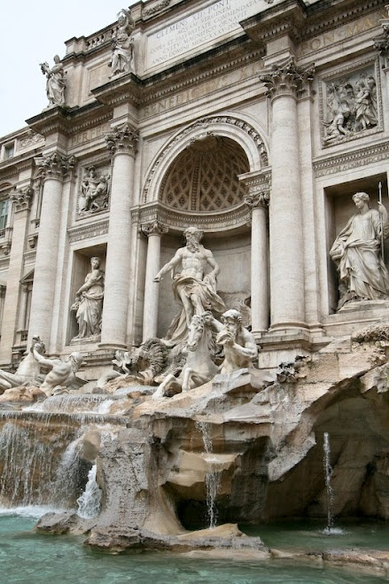 Rome, Italy.  Trevi Fountain