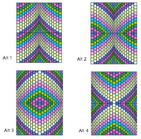 Free Bargello Patterns | Bargello Quilt Pattern - Sleeping Bear Crafts - Patchwork Quilting