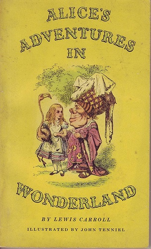Alice In Wonderland Classic Book Cover : Best images about artread alice s wonders on