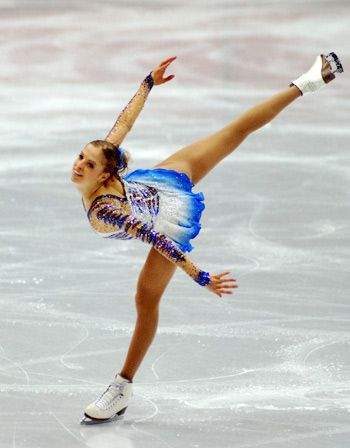 Carolina Kostner - the most fluid, lyrical skater ever. She was pure poetry on ice.