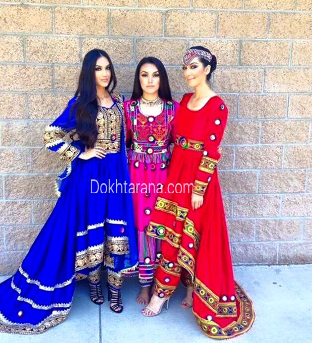 Afghan Tajikistan and west Pakistan dress