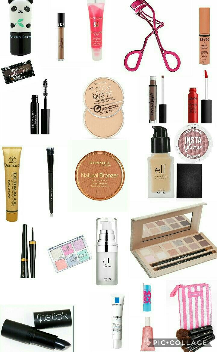 #makeup #teens #teenage #drugstore #best #cheap #elf #teenager #girl #beauty #nyx #flawless